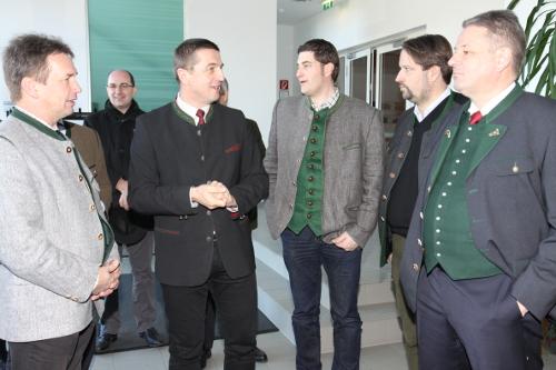 Besuch BM Rupprechter - Fachschulen Land Steiermark