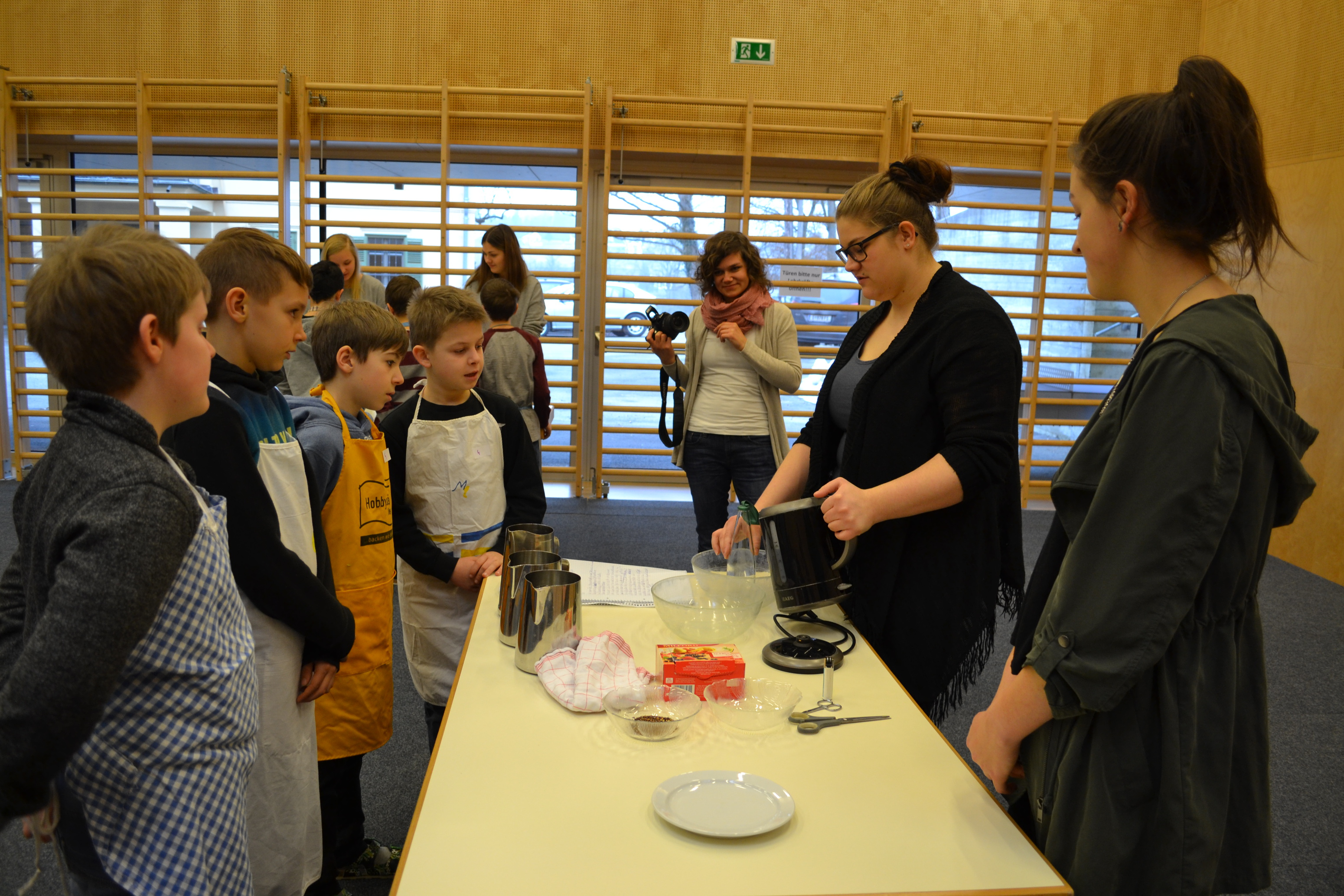 "Backworkshop ""Vom Korn zum Brot"""