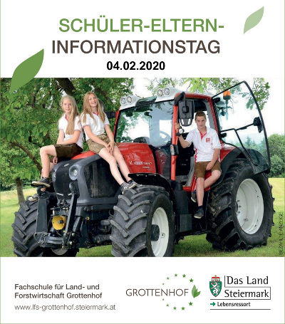 Elterninformationstage © LFS Grottenhof